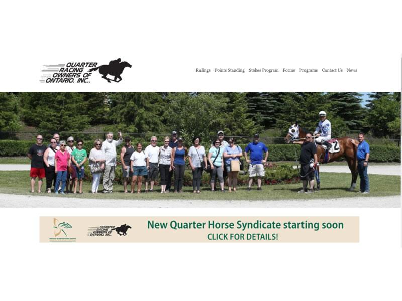 Quarter Racing Owners of Ontario